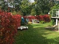 Exterier - podzim1 - chata ubytování Květov - Vůsí