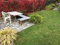 Exterier - podzim2 - chata k pronájmu Květov - Vůsí