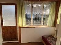 Interier - veranda1 - pronájem chaty Květov - Vůsí