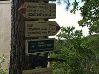 Turistické trasy v okolí - chata k pronajmutí Květov - Vůsí