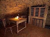 Vinný sklep - chalupa k pronajmutí Kunějov