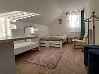Pokoj 2 - chalupa ubytování Nová Hlína