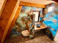 Koupelna - chata k pronajmutí Kunžak