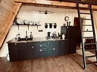 Kuchyně - chata ubytování Kunžak