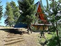 Pohled - pronájem chaty Kunžak