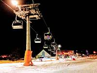 nocni lyzovani - Lipno nad Vltavou