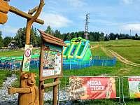 detskypark Foxik Frymburk, 5min autem - chata k pronajmutí