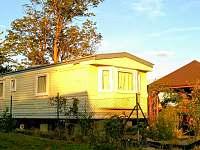 domek s venkovnim posezenim - chata ubytování Frymburk - Milná