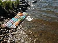 prirodni plaze v blizkosti - Frymburk - Milná