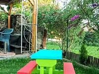 pro deti je mozne rozlozit detsky stolek - chata k pronájmu Frymburk - Milná