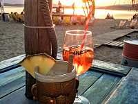 Slunicko, plaze a vyborny drink na Lipne... - chata k pronajmutí Frymburk - Milná