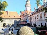 vylet do Ceskeho Krumlova - pronájem chaty Frymburk - Milná