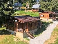 Chatky - ubytování v soukromí - dovolená v Jižních Čechách