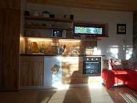 Kuchyňský kout - apartmán ubytování Nová Bystřice - Hůrky