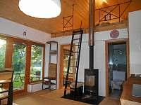 Obývák 1 - apartmán k pronajmutí Nová Bystřice - Hůrky