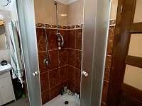 Koupelna v podkroví - apartmán k pronajmutí Jarotice