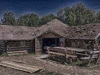 Saloon v pevnosti Fort Hary - apartmán k pronajmutí Jarotice