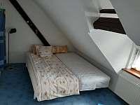 Menší pokoj - chalupa ubytování Třeboň