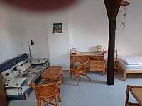 Rozkládací gauč - pronájem chalupy Třeboň