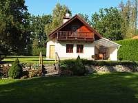 Chata ubytování v obci Budyně