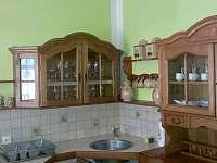 kuchyňský kout - chalupa k pronajmutí Nítovice