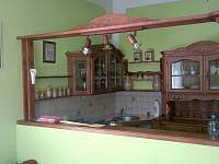 kuchyňský kout - pronájem chalupy Nítovice