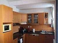Kuchyň - apartmán ubytování Lipno nad Vltavou