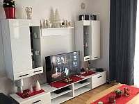 Obývák - apartmán k pronájmu Lipno nad Vltavou