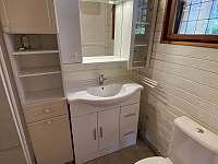 Koupelna - pronájem chaty Tabor - Čelkovice
