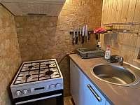 Kuchyně - chata k pronajmutí Tabor - Čelkovice