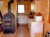 Kuchyně - pronájem chaty Tabor - Čelkovice