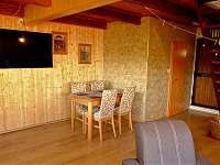 Společenská místnost - chata k pronájmu Tabor - Čelkovice