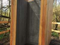 Sprcha - pronájem srubu Tučapy