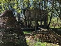 Treehouse Tučapy - srub ubytování Tučapy