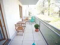balkón - apartmán ubytování Český Krumlov