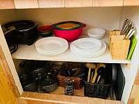 detail kuchyně - chata k pronajmutí Mladošovice - Lhota