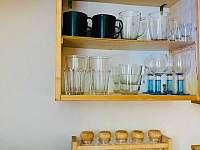 detail kuchyně - chata ubytování Mladošovice - Lhota