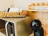 detail kuchyně - chata k pronájmu Mladošovice - Lhota