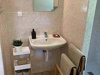 koupelna detail umyvadlo - chata k pronajmutí Mladošovice - Lhota