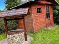 vrt, chatka pro uskladnění např. kol - Mladošovice - Lhota