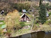Chata u řeky Lužnice - k pronajmutí Tábor - Čelkovice
