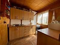 Kuchyně - pronájem chaty Tábor - Čelkovice