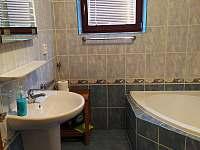 Koupelna 1. patro - rekreační dům k pronájmu Lipno nad Vltavou