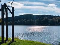 Lipenská přehrada 100 m od domu - Frymburk