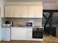 Apartmán V PODKROVÍ - Lipno (Hůrka, Horní Planá) - Kuchyně - ubytování Horní Planá - Hůrka