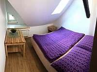 Apartmán V PODKROVÍ - Lipno (Hůrka, Horní Planá) - Pokoj s dvoulůžkem - k pronájmu