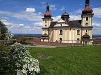 Poutní chrám Panny Marie Těšitelky v Dobré Vodě - Rapšach - Spáleniště