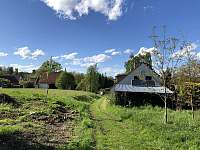 Na kraji vesničky - chalupa k pronajmutí Kondrač