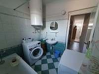Koupelna - chalupa k pronájmu Veselí nad Lužnicí
