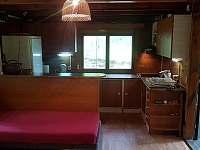 kuchyňský kout - chata k pronájmu Chřešťovice